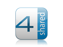 4shared logo