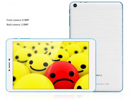 Colorfly G808 3G - Frontal y trasera