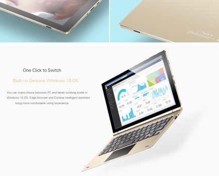 Teclast Tbook 10 - Windows 10 genuino