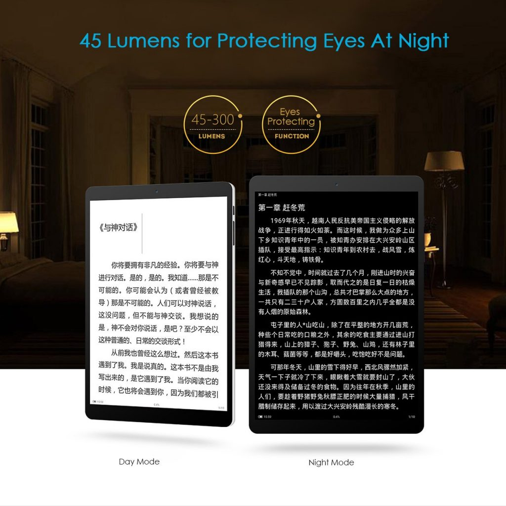 Teclast X89 Kindow - 45-300 lumens - Eyes protecting function