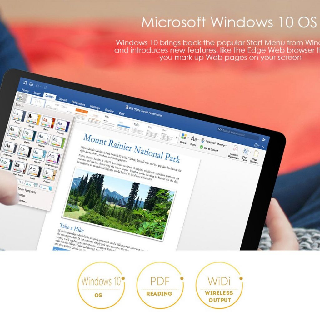 Teclast X89 Kindow - Windows 10