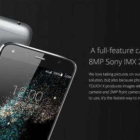 UMI Touch X 4G - Camara Sony IMX 219 de 8MP